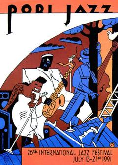 Vuoden 1991 festivaalijuliste